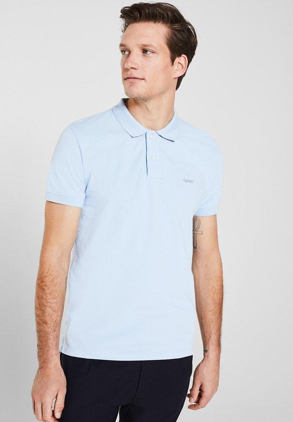 Esprit OCS - Koszulka polo - light blue/jasnoniebieski Odzież Męska VGDB