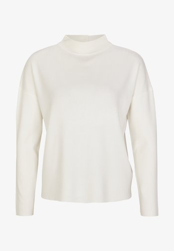 MIT DROPPED SHOULDERS - Pullover - soft white