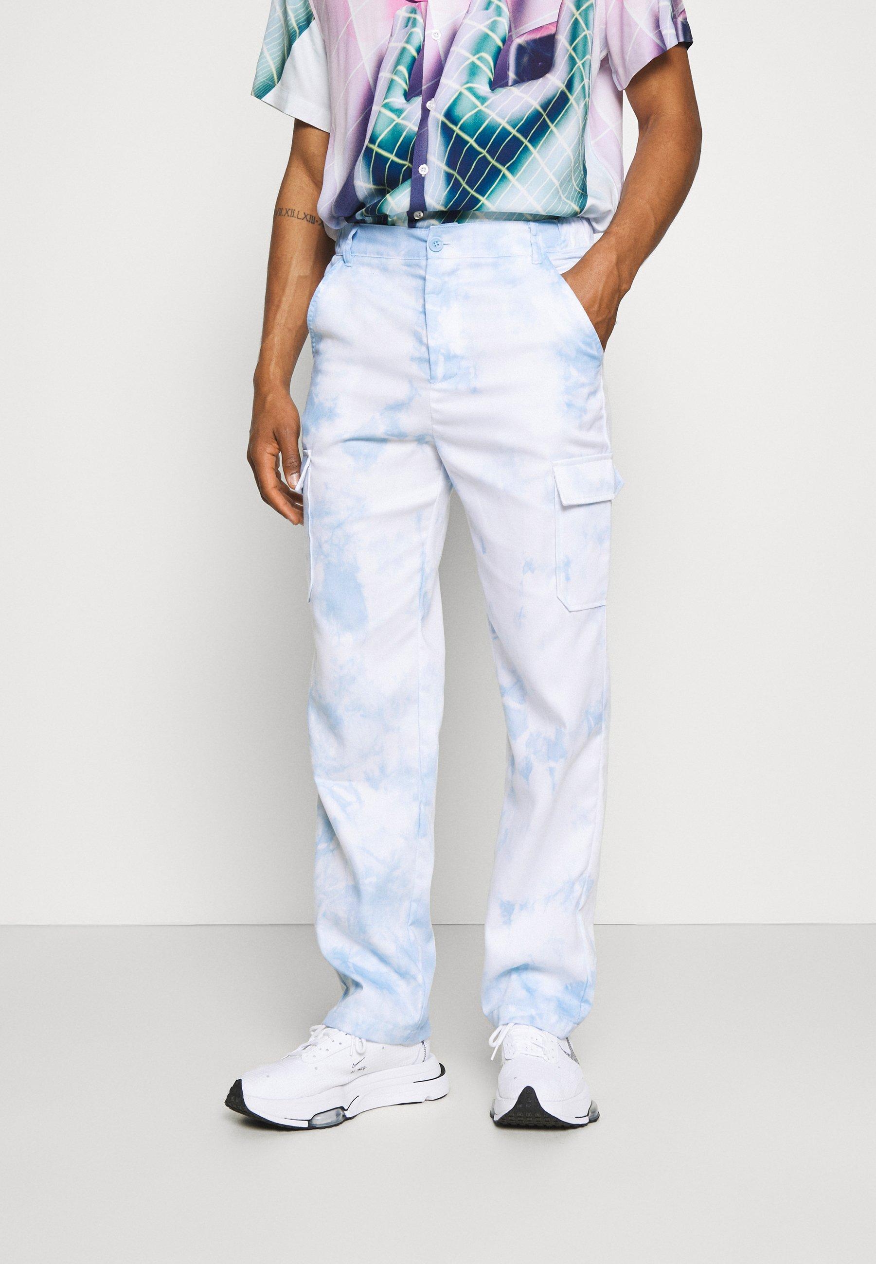 Homme PANT IN TIE DYE UNISEX - Pantalon cargo