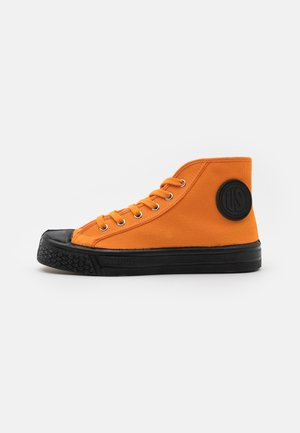 UNISEX - Sneakersy wysokie - mandarin