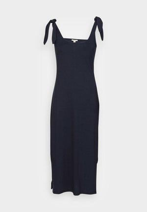 TIE DRESS - Žerzejové šaty - navy