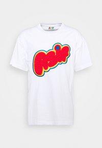 AS IF Clothing - FUNNY LOGO TEE UNISEX  - T-shirt print - white - 0