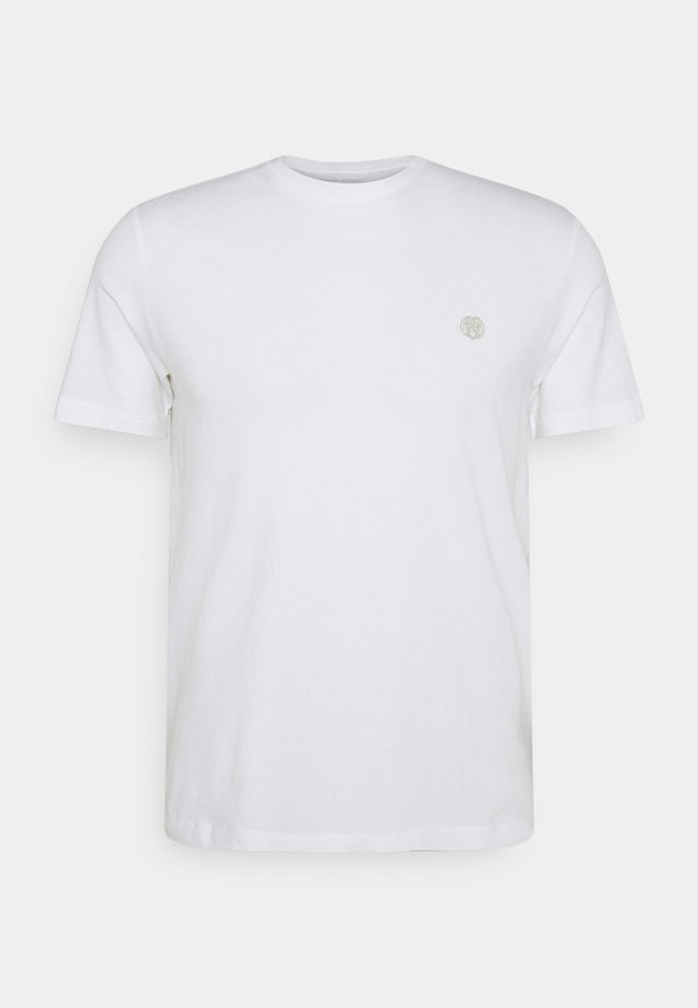 SAFARI GRAPHIC TEE - T-shirts med print - optic white
