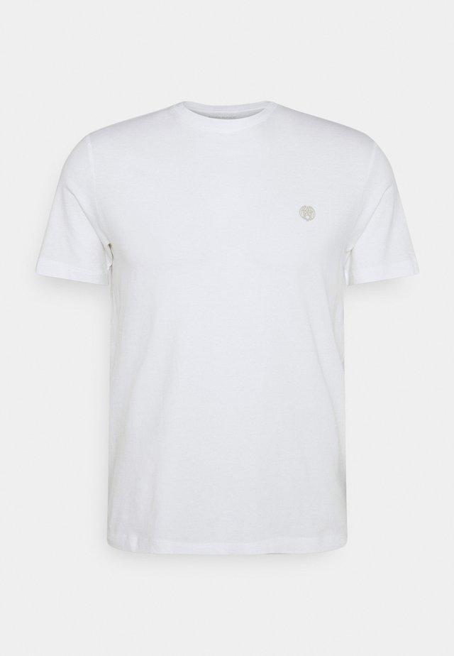 SAFARI GRAPHIC TEE - T-shirt imprimé - optic white