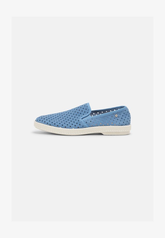 UNISEX - Sneakers laag - light blue