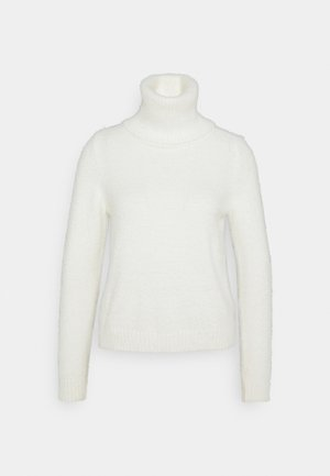 VIFEAMI ROLLNECK - Jumper - whisper white