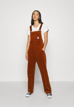 OVERALL STRAIGHT - Salopette - brandy