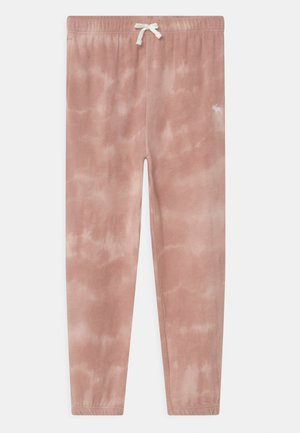 Tracksuit bottoms - pink wash