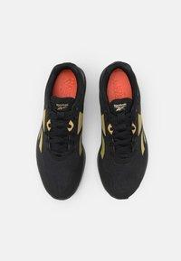 Reebok - RUNNER 4.0 - Neutral running shoes - black/gold metallic - 3