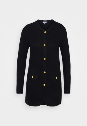 JACKET LONG - Cardigan - black