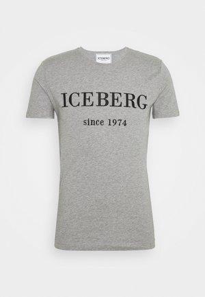 Print T-shirt - grigio melange