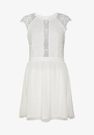 SO GOOD CAP SLEEVE DRESS - Cocktailjurk - white