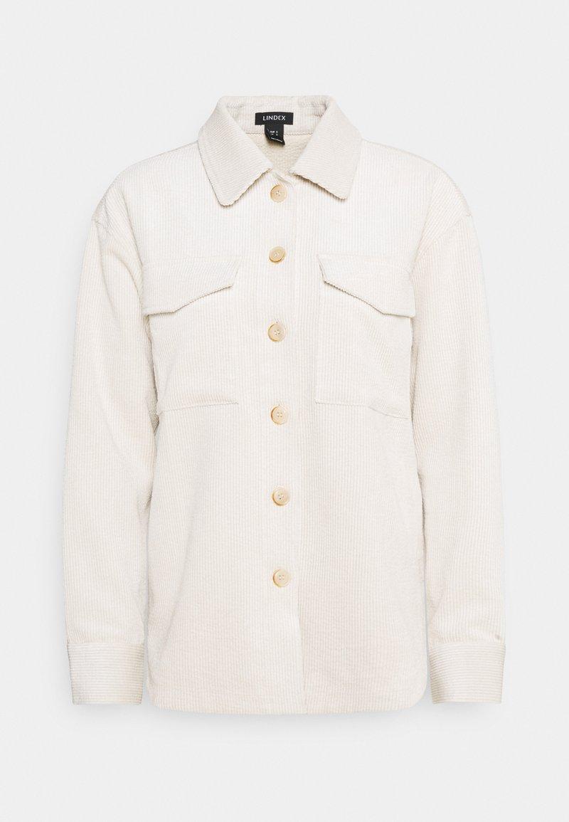 Lindex - SHACKET CONNY - Blouse - light beige
