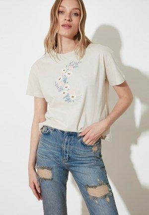 T-shirts print - beige