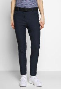 Cross Sportswear - STRETCH PANTS - Kalhoty - navy - 0