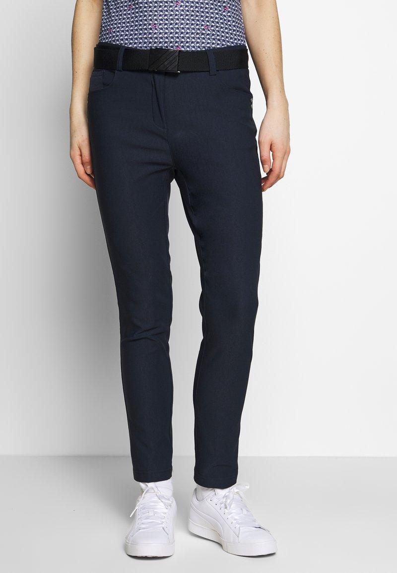 Cross Sportswear - STRETCH PANTS - Kalhoty - navy