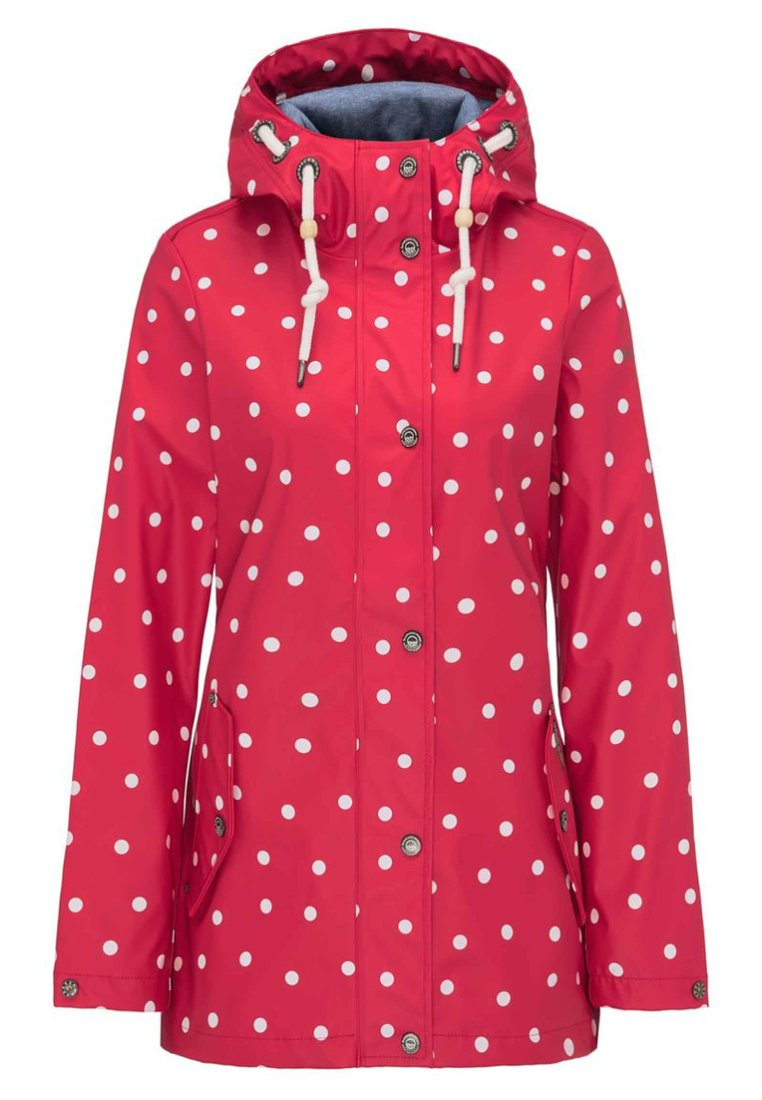 Schmuddelwedda Outdoor jacket - rot