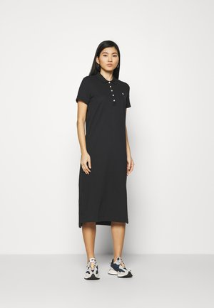 POLO DRESS - Robe d'été - black