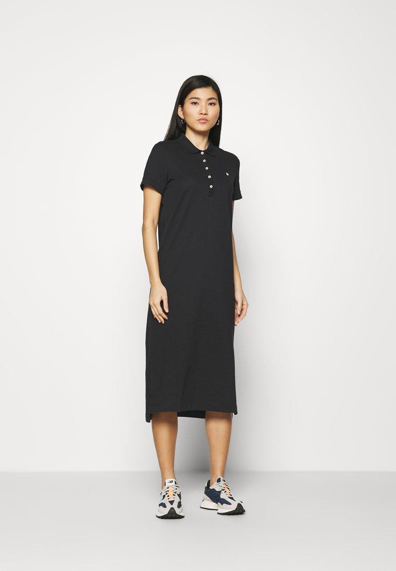 GANT - POLO DRESS - Day dress - black