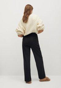 Mango - MARLEN - Trousers - gris chiné foncé - 2