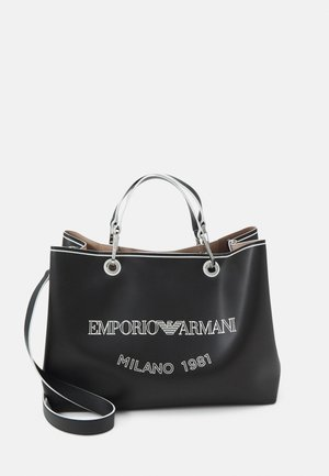MYEABORSA SHOPPING SET - Shopping bag - nero/bianco