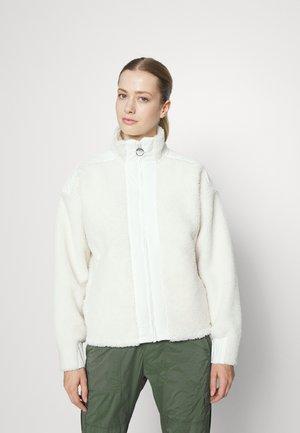 ORIGINAL PILE ZIP - Fleece jacket - offwhite