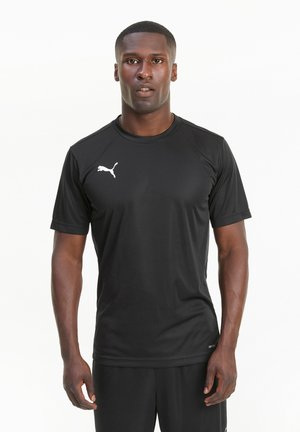 FTBLPLAY  - Basic T-shirt - puma black-asphalt