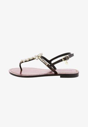 LACAMPO - Sandály s odděleným palcem - brown