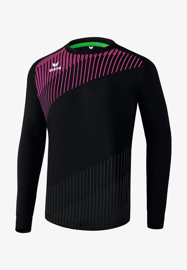 TORWARTTRIKOT PRO KINDER - Goalkeeper shirt - schwarz / pink