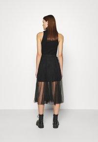 AllSaints - ELVIE TULLE SKIRT - A-line skirt - black - 2