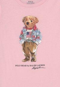 Polo Ralph Lauren - BEAR TEE - T-shirt à manches longues - hint of pink - 2
