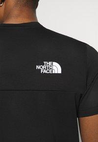The North Face - TEE  - Printtipaita - black - 4