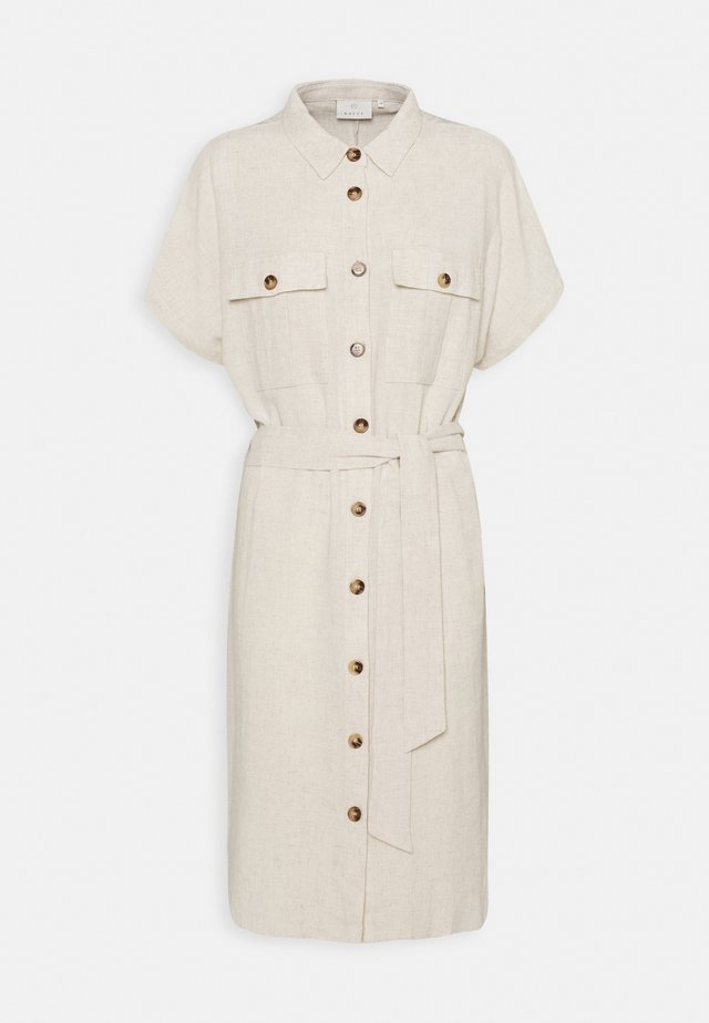 LINY DRESS - Shirt dress - light sand