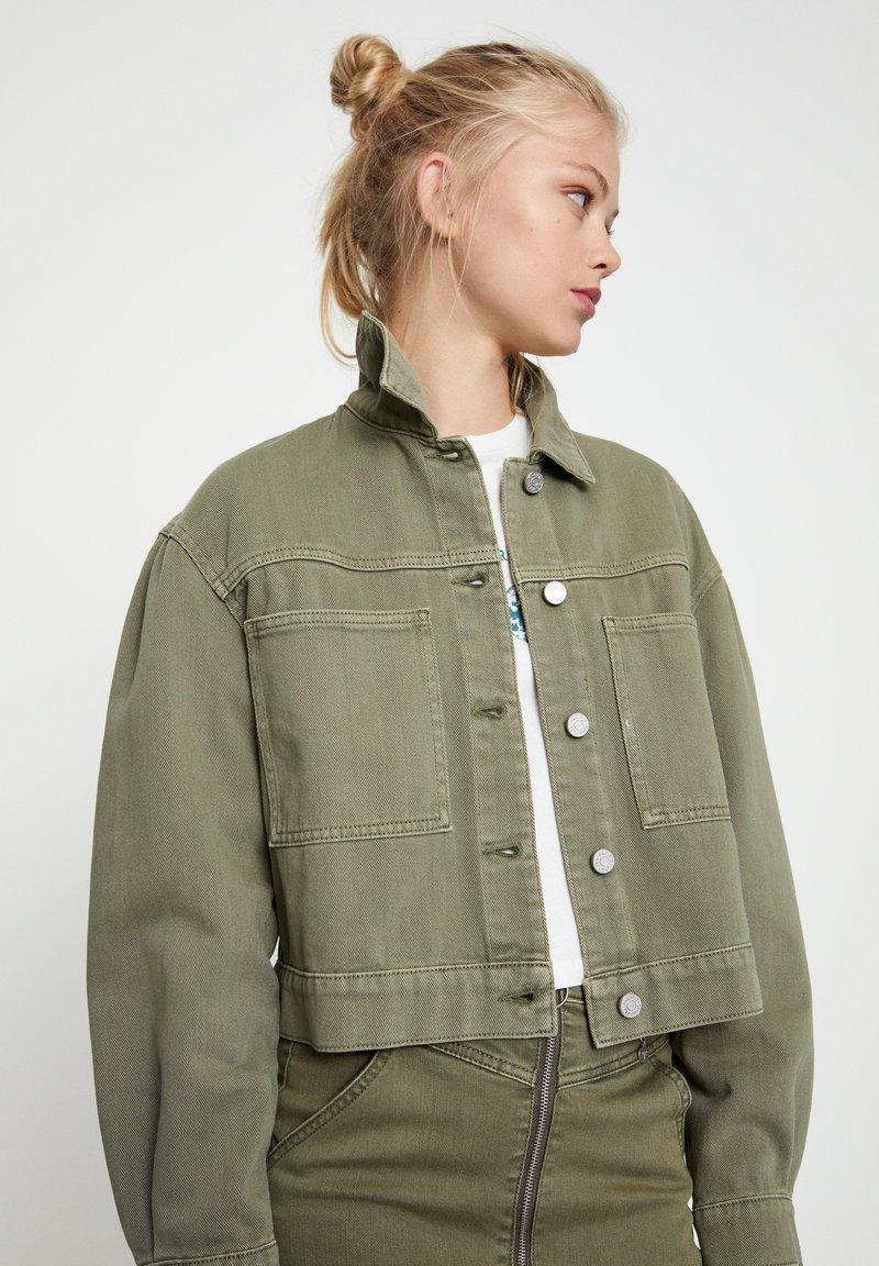 PULL&BEAR - Summer jacket - khaki