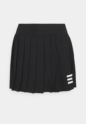 CLUB PLEATSKIRT - Sports skirt - black/white