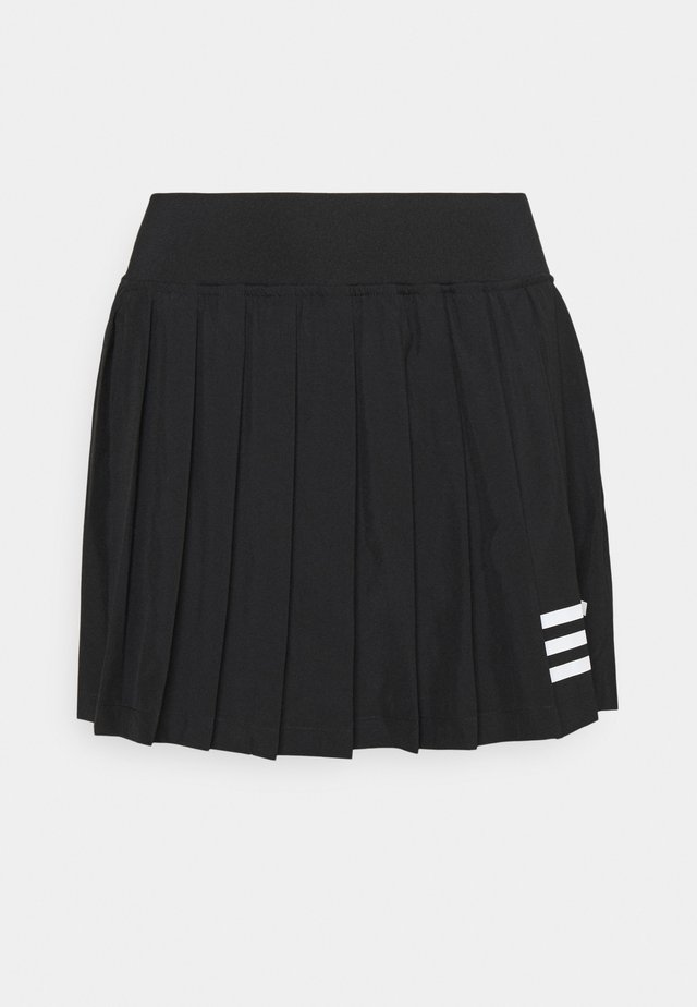 CLUB PLEATSKIRT - Sportkjol - black/white