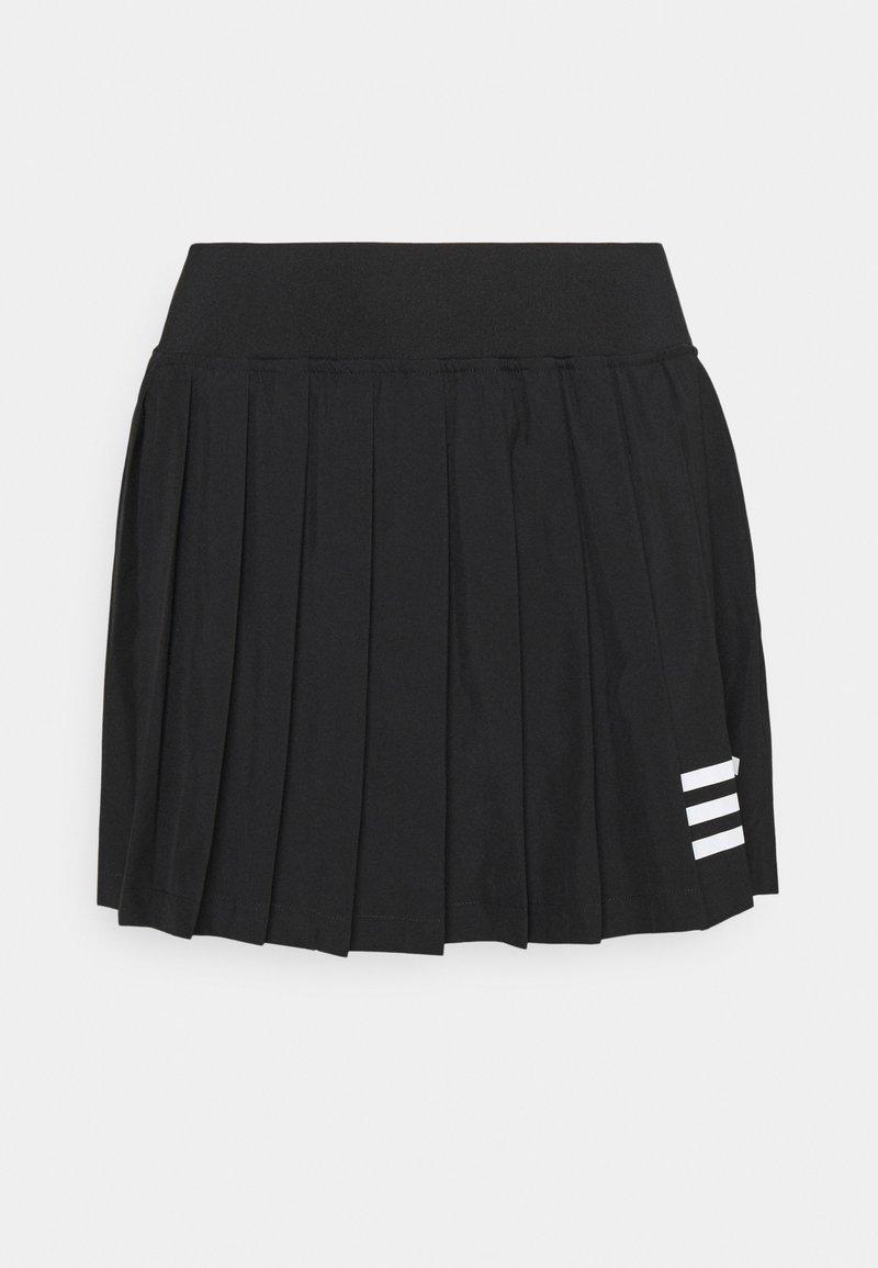 adidas Performance - CLUB PLEATSKIRT - Urheiluhame - black/white