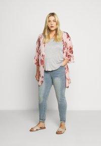 Glamorous Curve - Jeans Skinny Fit - vinatge light wash - 1