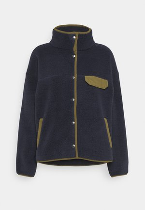 WOMENS CRAGMONT JACKET - Fleece jacket - aviatornavy/militaryolive
