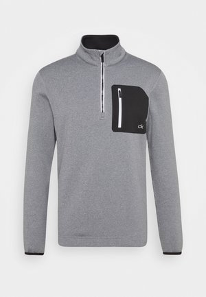 PINNACLE HALF ZIP - Fleece jumper - grey marl