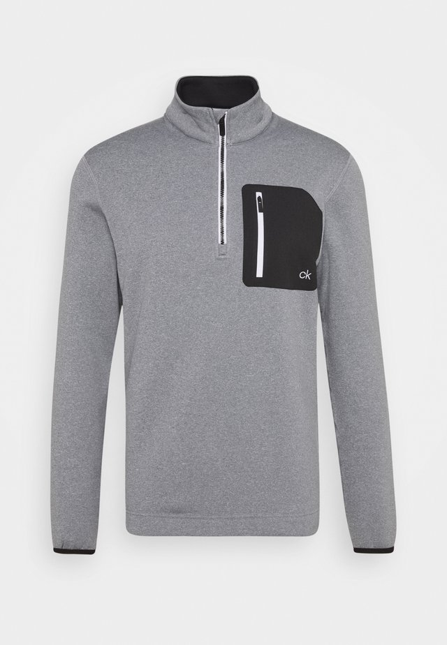 PINNACLE HALF ZIP - Sweat polaire - grey marl