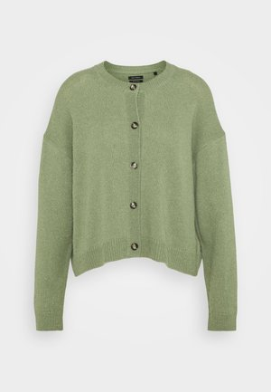 ROUND NECK - Neuletakki - dried sage