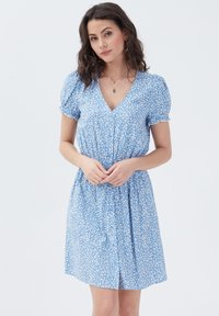 Cache Cache - Korte jurk - bleu pastel - 1