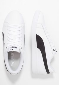 Puma - SMASH - Trainers - white/black