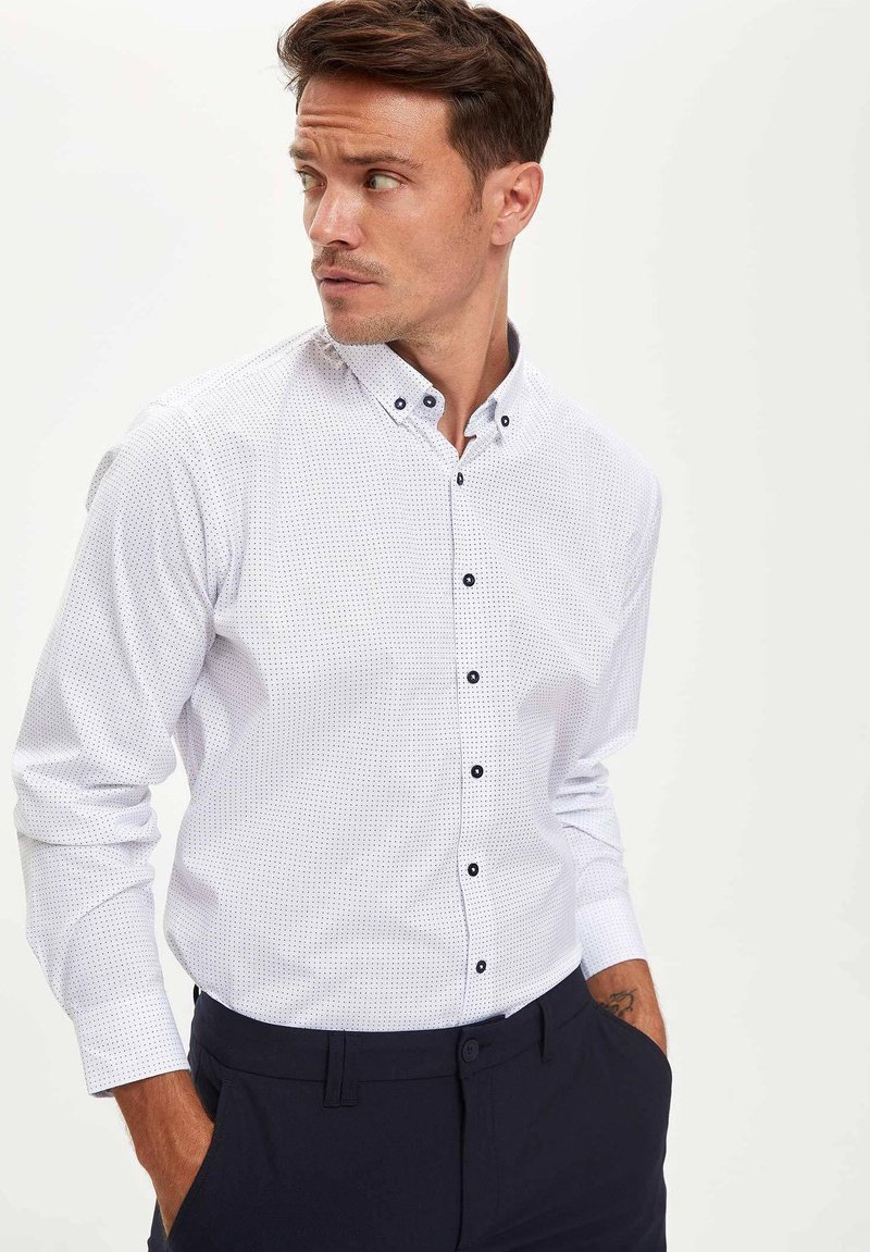 DeFacto - Overhemd - white