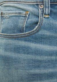 G-Star - 3301 SLIM SHORT - Jeansshorts - blue denim - 4