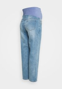 Cotton On - MATERNITY STRETCH STRAIGHT OVER BELLY - Straight leg jeans - blue - 1