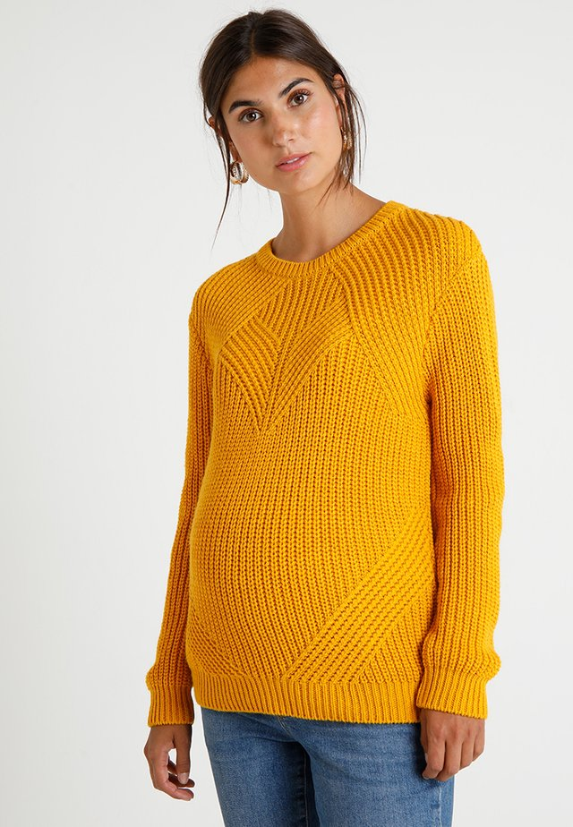 REMI - Trui - mustard