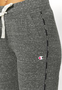Champion - CUFFED PANTS - Tracksuit bottoms - mottled grey - 4