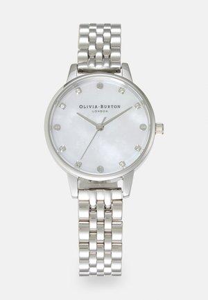 CLASSICS - Watch - silver-coloured/white